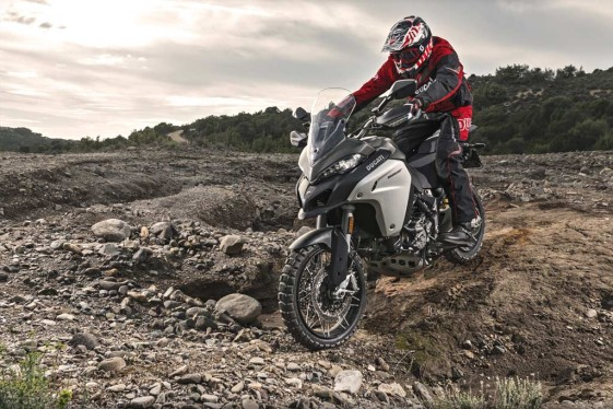 2016 Ducati Multistrada 1200 Enduro off-road