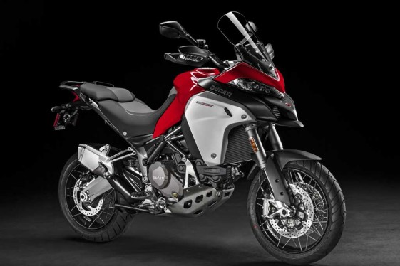 Ducati Multistrada Enduro heavy adventure bikes