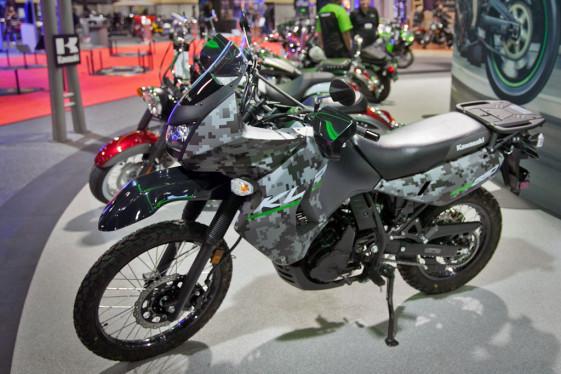 Kawasaki KLR650 Digital Camo
