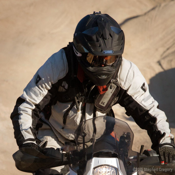 Shoei Hornet X2 Dual Sport Helmet Peak