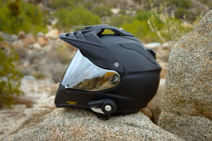 Shoei-Hornet-X2-Dual Sport Helmet Sena 20s Headset