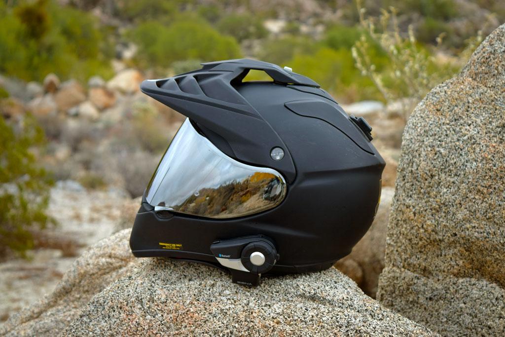 Shoei-Hornet-X2-Dual-Sport-Helmet-Sena-20s-Headset - ADV Pulse