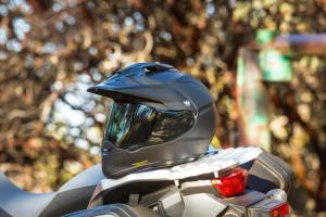Shoei Hornet X2 Dual Sport Helmet in black