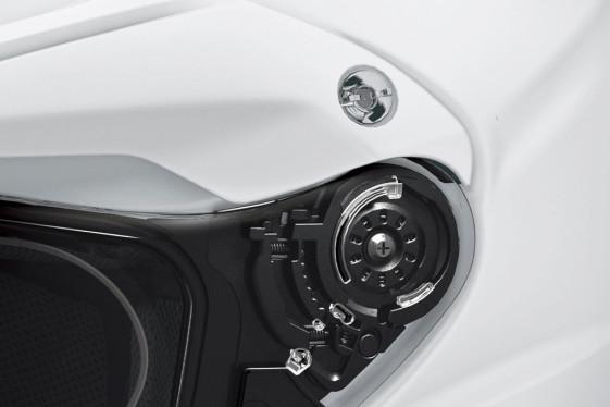 Shoei Hornet X2 Dual Sport Helmet latches