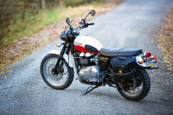 Triumph Scrambler Adventure Bike