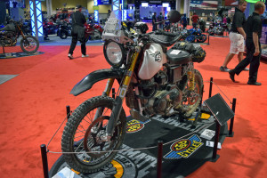 Carducci dual sport based on a Harley Sportster