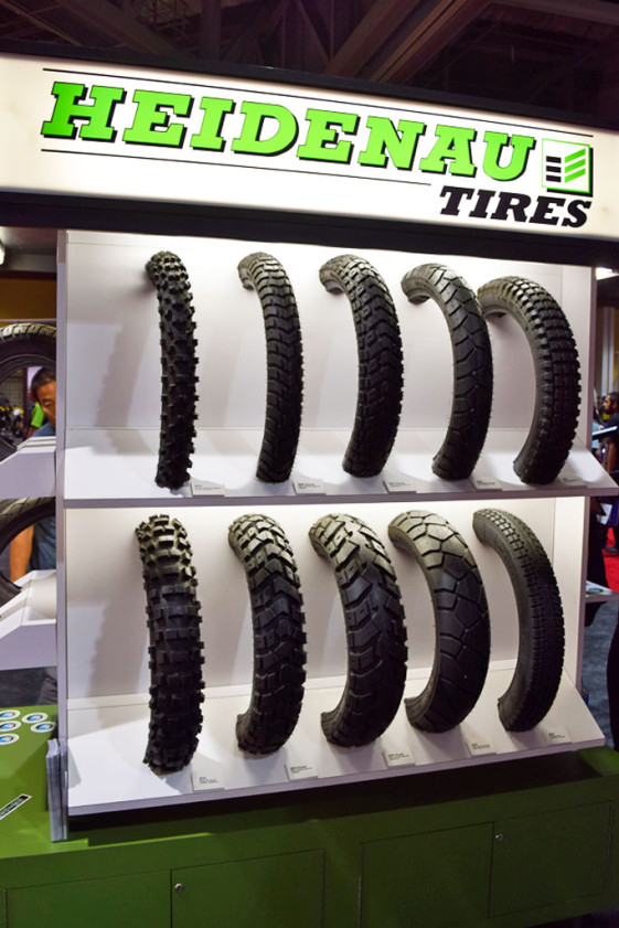 Heidenau tires bigger sizes