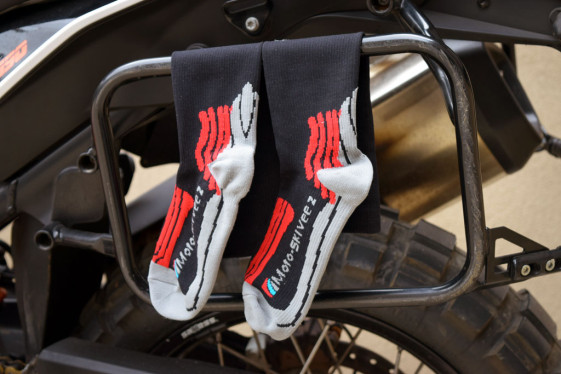 moto-skiveez compression socks air dry