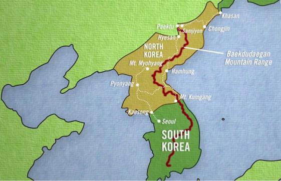 Riding North Korea