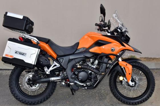 CSC Cyclone RX-3 250cc Sahara Orange Adventure and Dual Sport