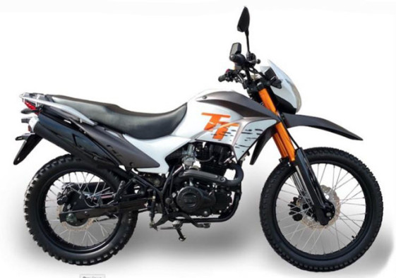 2016 CSC TT 250 - White with orange TT lettering Adventure and Dual Sport