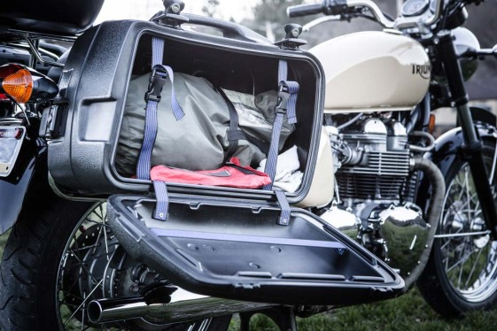 two up motorcycle packing