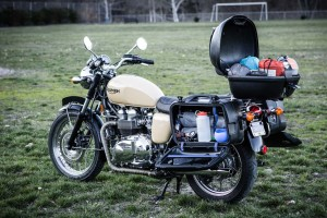 packing for two up motorcycle touring