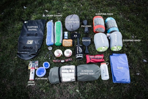 Rugged Liners Packing Tips for Two-Up Motorcycle Camping - ADV Pulse