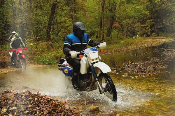 Ozark National Forest Motorcycle Rides in Arkansas