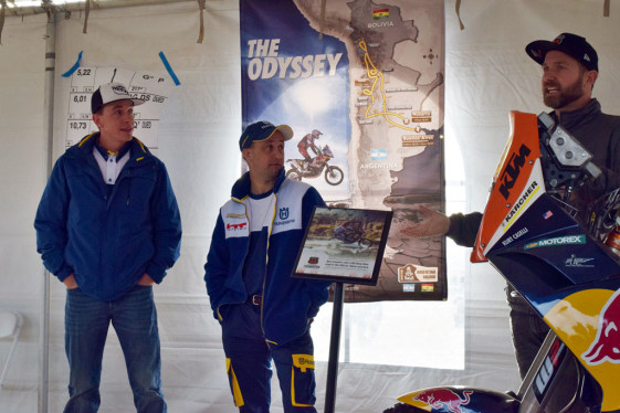 Team HT Husqvarna Rally Raid