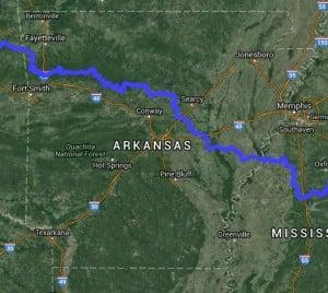 Trans America Trail - Arkansas