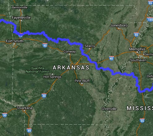 trans america trail oklahoma map Top 7 Motorcycle Rides In Arkansas For Adventure Riders