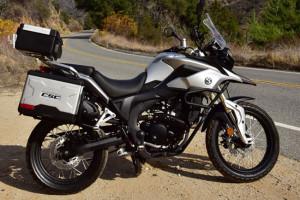 CSC Cyclone RX-3 250cc Metallic Sierra Silver