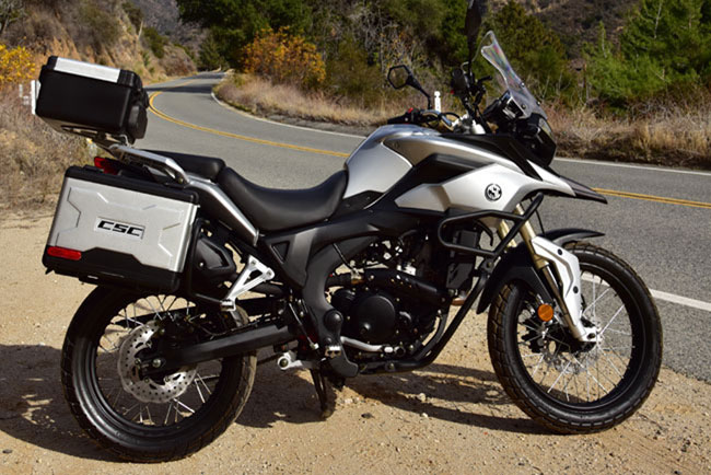 CSC Motorcycle 2016 Adventure and Dual Sport models and pricing