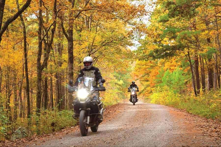 Top 7 Motorcycle Rides in Arkansas for Adventure Riders