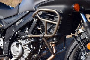 Suzuki V-Strom 650 crash bars