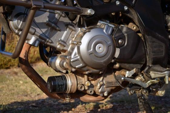 Suzuki V-Strom 650 XT oil filter