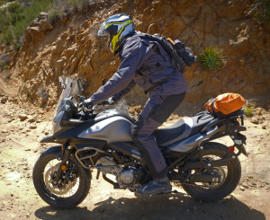 V-Strom 650 XT Riding Off-Road