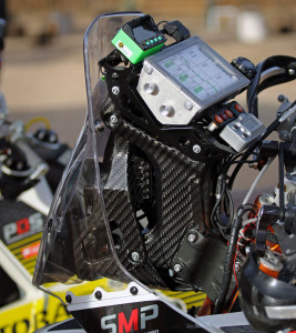 2015 ktm 450 rally carbon fiber navigation tower