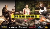 3 winners in our ultimate adventure holiday giveaway