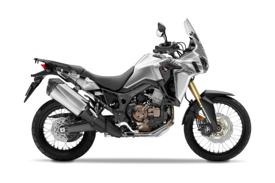 2016 Honda Adventure Bikes - Honda CRF1000L Africa Twin Digital Metallic Silver