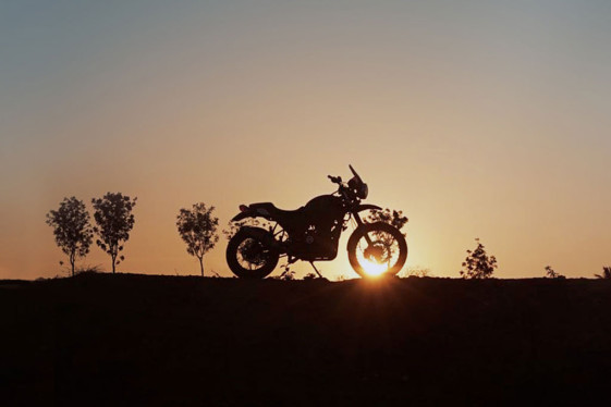 Royal Enfield The Himalayan- motorcycle