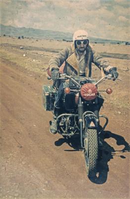 Ted Simon travel author
