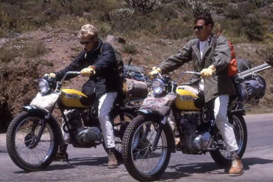 Filmmaker Dana Brown's 1965 Baja Motorcycle trip.