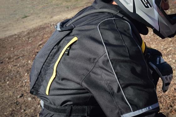 ARC Battle Born Suit hydration pocket