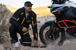 Adventure Motorcycle Gear- Battle Born Jacket and Pants fit