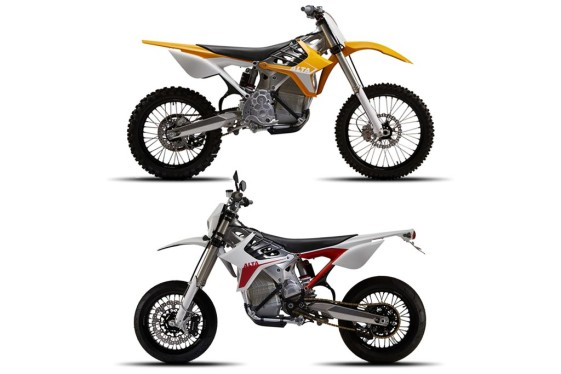 Alta Redshift MX and SM Electric Motorcycles
