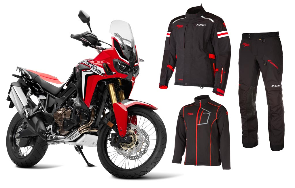 Klim Launches Honda Africa Twin Adv Motorcycle Gear Line