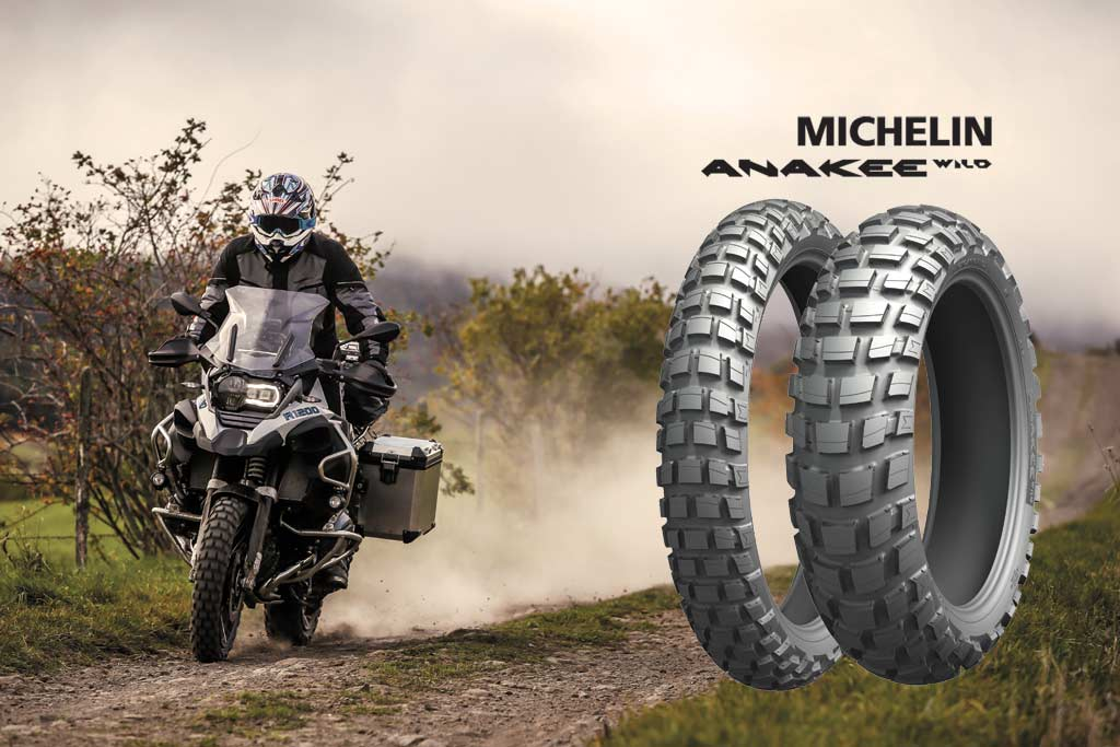 Motorcycle Rear Tire >> Michelin Launches its New Anakee Wild Dual-Sport Tire - ADV Pulse