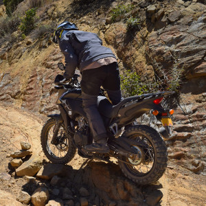 Rally Raid CB500X Review ground clearance