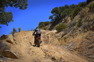 Rally Raid CB500X Review hill climb