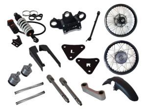 Rally Raid CB500X Stage 3 kit