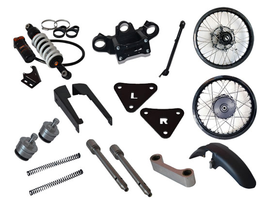 Rally Raid CB500X Stage 3 kit