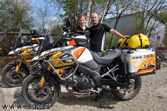 Touratech equipped V-Strom