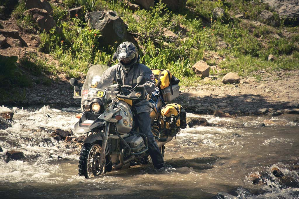 Long Distance Adventure Motorcycle Ride