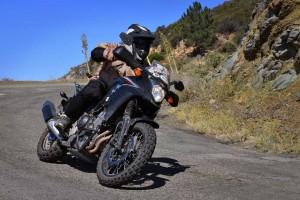 cb500x adventure kit cornering clearance