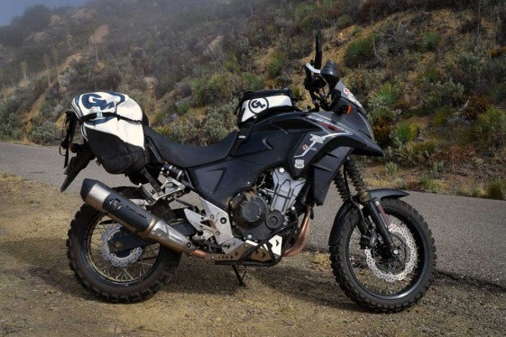 Rally Raid Honda CB500X Adventure photo courtesy of ADV Pulse
