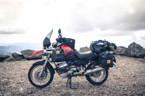 pack light for long-distance motorcycle trips