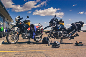 Long distance motorcycle preparation