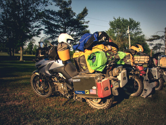 off-road riding tips packing